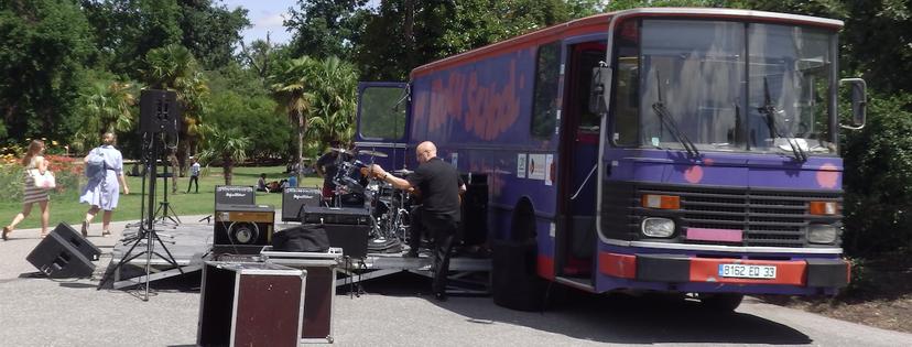 Bus Rock School Barbey musique