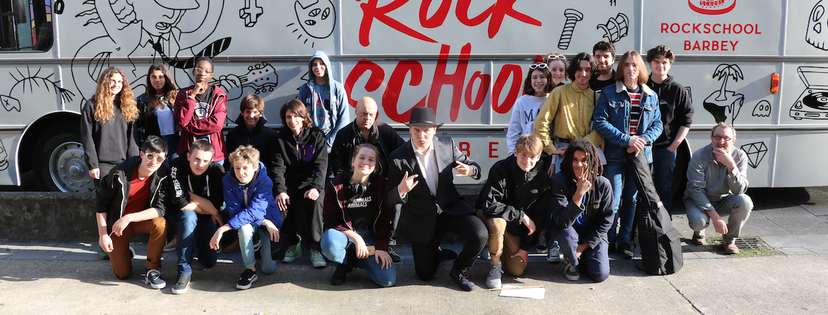 rock school bus