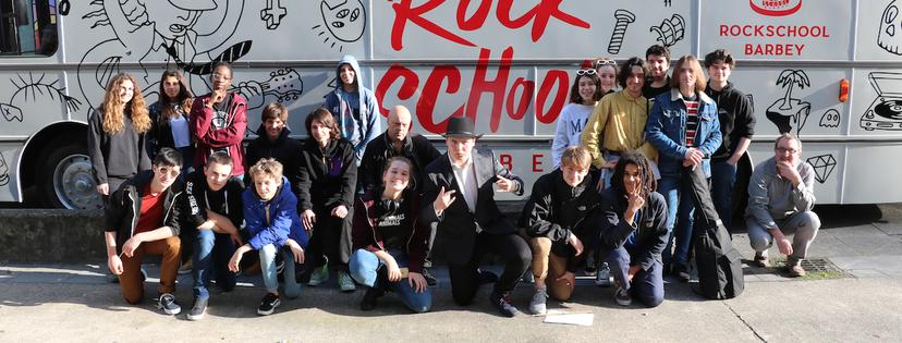 rock school bus